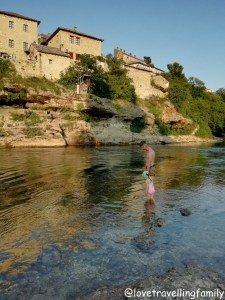 River Neretva, Mostar, Bosnia and Hercegovina