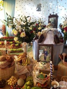 Dia de los muertos in Ocotepec - private house 2