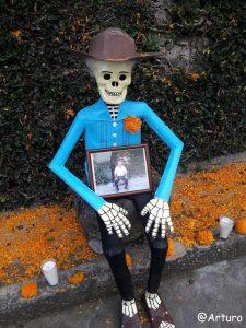 Dia de los muertos in Ocotepec - private house 1