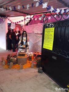 Dia de los muertos in Ocotepec - private house 4