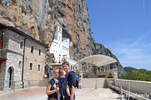 Ostrog, Montenegro, 2015, Love travelling family