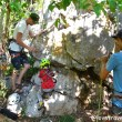 Climbing in Viñales, Cuba Love travelling family