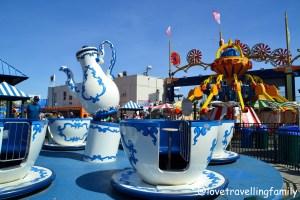 Luna Park, Coney Island, Love travelling family