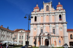Church of St. Casimir Vilnius, Lithuania with kids Love travelling family