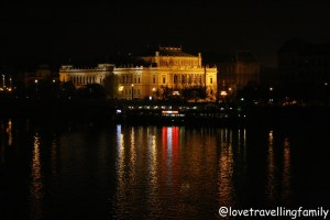 Evening walk through Prague Love travelling family