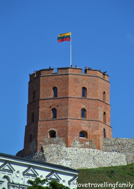 Gediminas Castle Tower, Vilnius, Lithuania with kids Love travelling family
