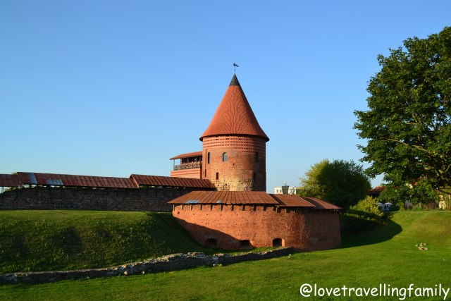 Kaunas Castle Lithuania with kids Love travelling family