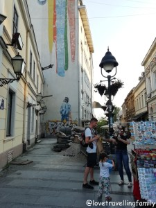 Knez Mihailova Street, Kneza Mihaila, Serbia, Belgrade with kids, Love travelling family