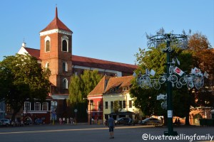Old Town Kaunas Lithuania with kids Love travelling family