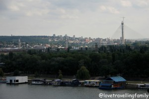 Panorama of Belgrade, Kalemegdan, Serbia with kids, Love travelling family