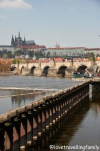 Rent a boat on the Vltava River, Prague, Love travelling family