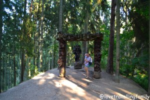 The Hill of Witches, Lithuania with kids Love travelling family