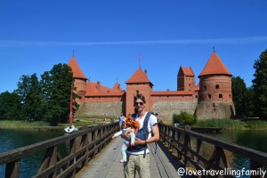 Trakai Island Castle, Lithuania with kids Love travelling family
