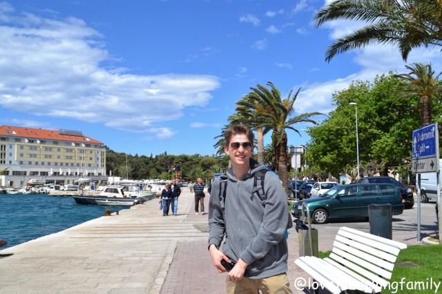 Harbor Makarska, Makarska Riviera. Family travel guide