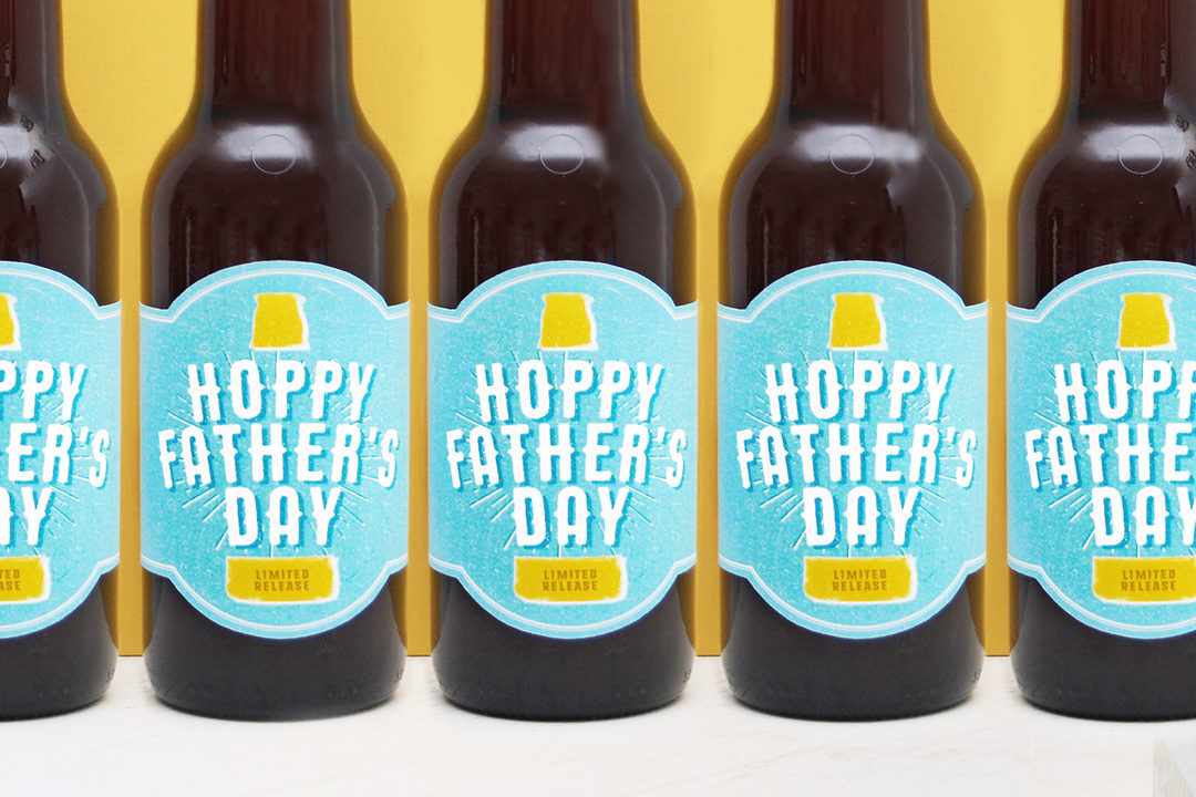 Free Printable Hoppy Fathers Day Beer Label