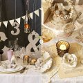 Reception tablescapes by bhldn