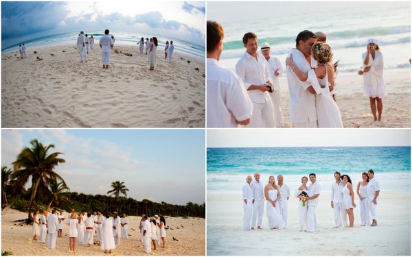 Salsa Nights Mexico Beach Wedding By Dreamtime Images