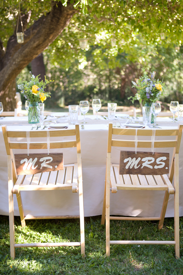 mr and mrs chair signs office victoria bc rustic love wed bliss