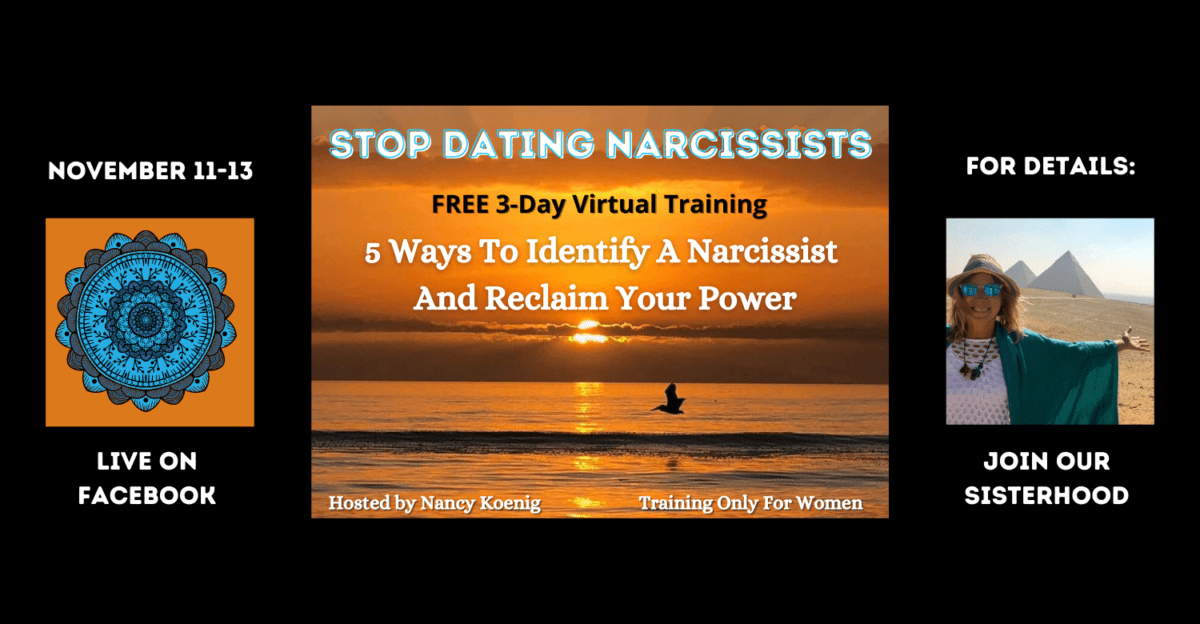 Stop Dating Narcissists