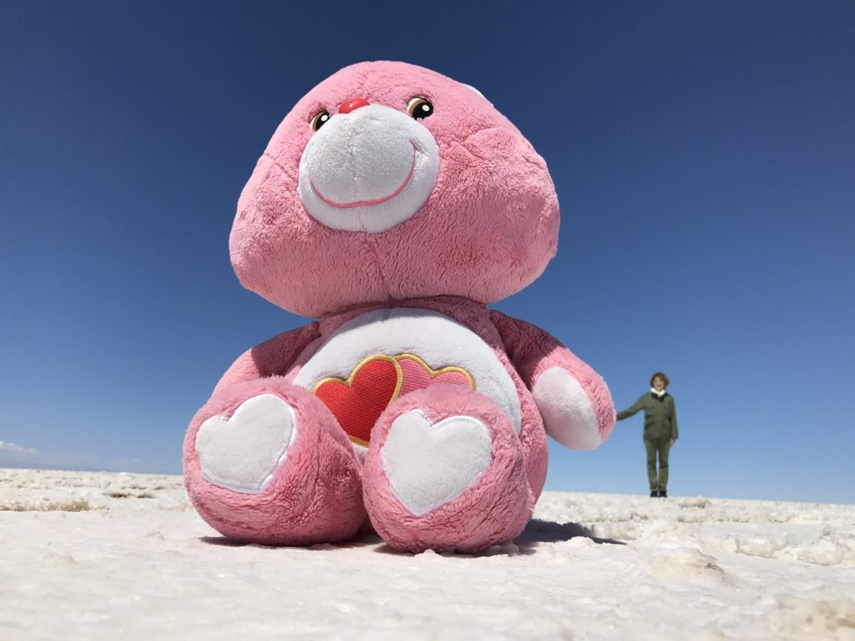 Bolivia Salt Flats with Lovey Loi