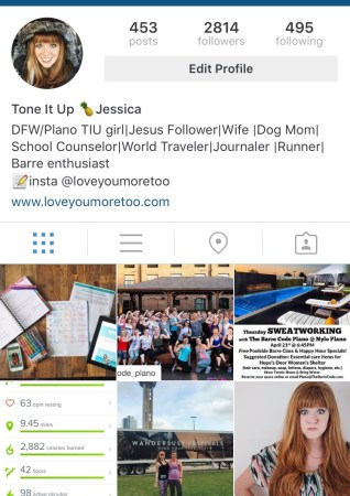 tiu_redheadjess instagram love you more too north dallas blogger plano lifestyle blogger tone it up bikini challenge prep schedule workouts nutrition plan