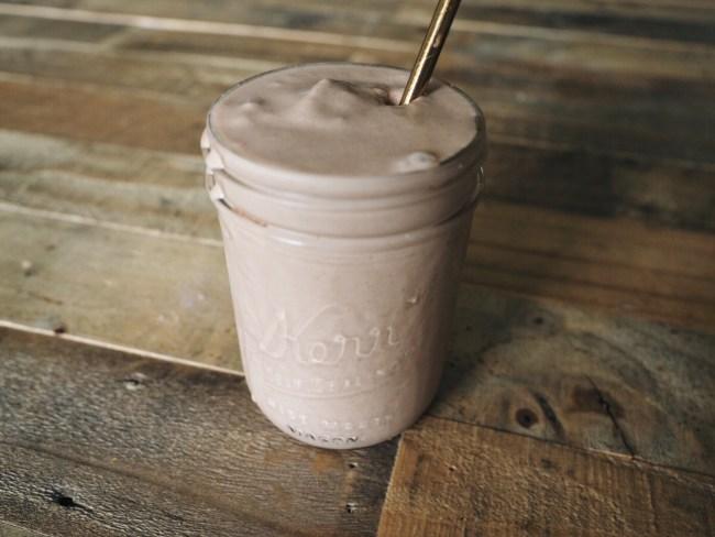 food blogger love you more too north dallas blogger plano lifestyle blogger Chocolate Peanut Butter Banana Shake