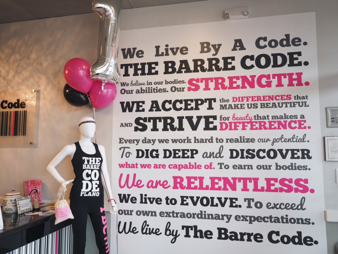 love you more too north dallas blogger plano lifestyle blogger fitness blogger The Barre Code Plano