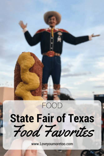 Texas State Fair Food Favorites Pinterest