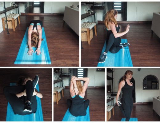 love you more too north dallas blogger fitness blogger easy stretches for non-flexible people