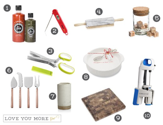 Love You More Too Gift Ideas for Foodies dallas blogger