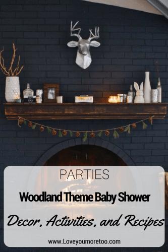 Pinterest Woodland Theme Baby Shower Decor Inspo