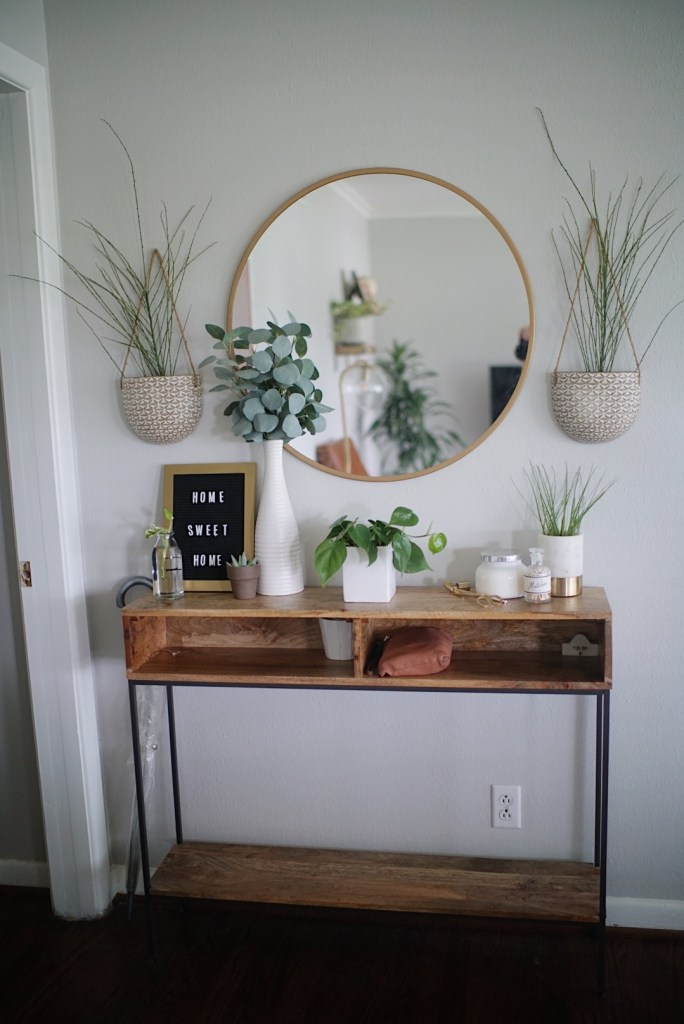 Boho House Tour Plants windows living room inspo