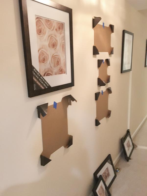 gallery-wall-hallway| loveyourabode |-2