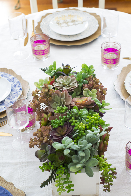 succulent-valentines-tablescape| loveyourabode |-5