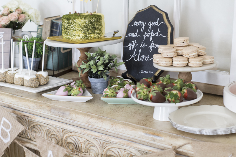 Rustic Baby Shower| Loveyourabode ...
