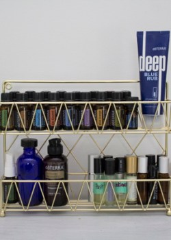 3 Ways to Organize using a Spice Rack