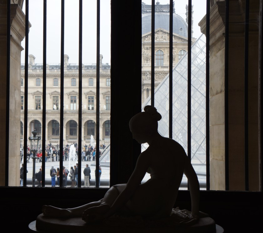 Photo from inside The Louvre in Paris, France