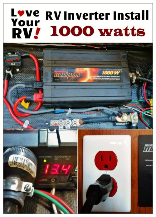 small resolution of 1000w pure sine wave inverter updated motorhome inverter wiring diagrams rv inverter wiring