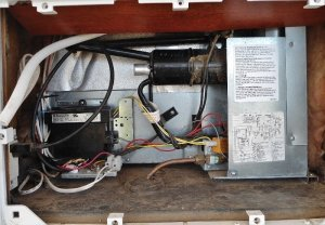 Dometic DM2652 RV Refrigerator Repair  Faulty Electric