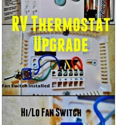 hunter 42999b digital rv thermostat upgrade love your rv blog https  [ 735 x 1286 Pixel ]