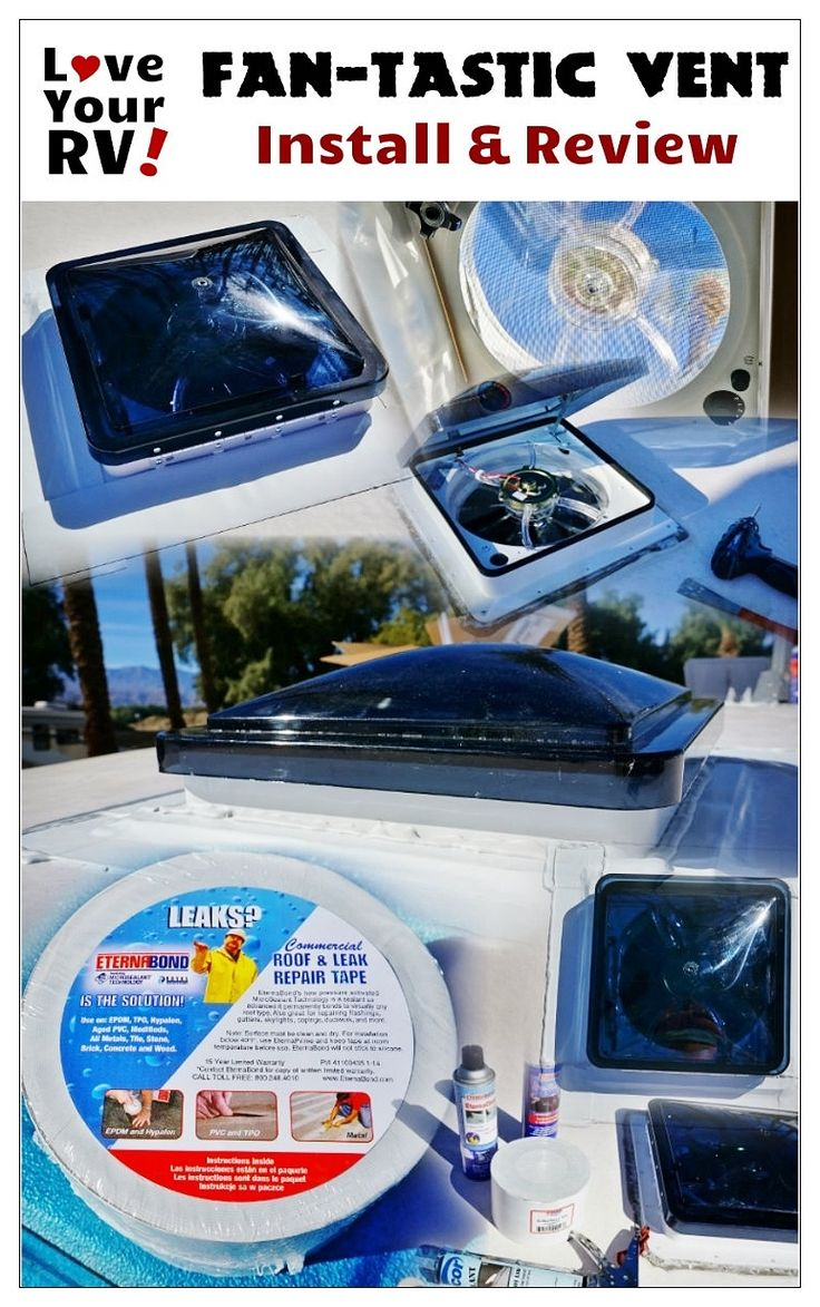medium resolution of installing the fantastic vent fan into our trailer by love your rv https