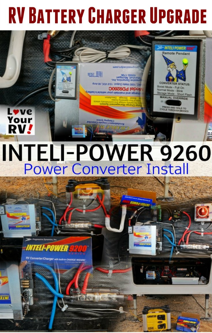 medium resolution of how to upgrade an rv power converter for better charging when boondocking by the love your