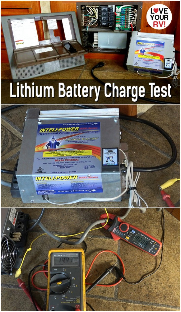 Lithium Battery Charge Test  U2013 Can You Use A Lead Acid Converter  Charger