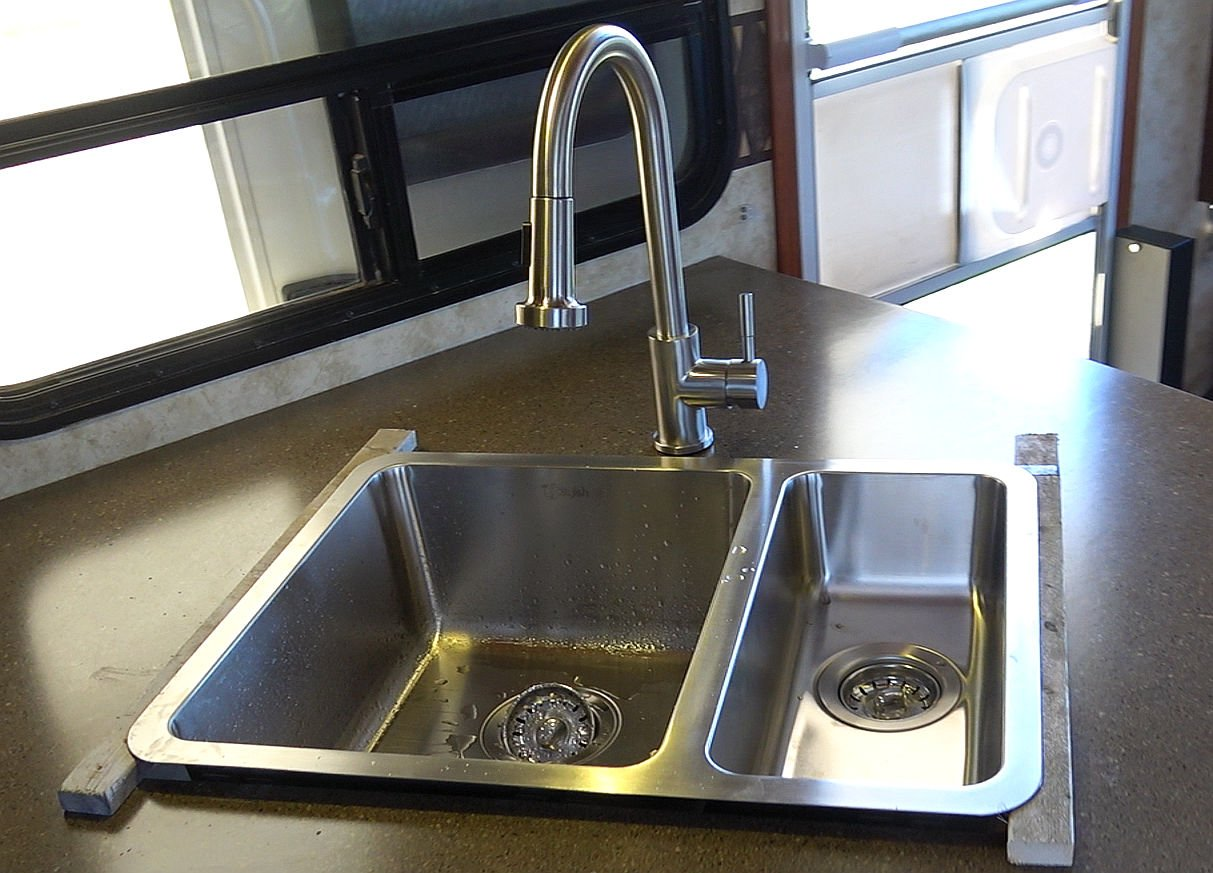 lci flow max stainless steel rv faucet