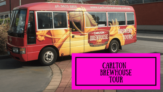 Carlton Brewhouse Tour- Melbourne