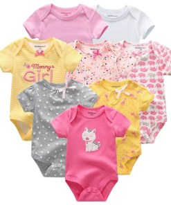 Short Sleeved Baby Onesies