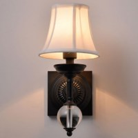 Industrial Vintage Wrought Metal Iron Crystal Wall Lamp ...