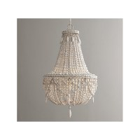 Chandelier With Wooden Beads. Top Dining Room Wood Bead