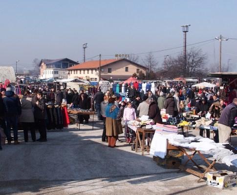 Il mercatino dell'usato di Stup a Sarajevo