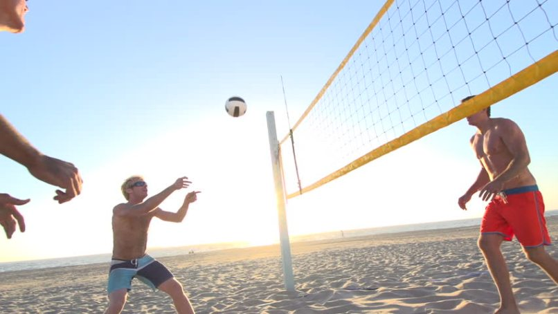 beach sports volleyball